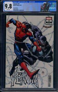 "Venom 12 CGC 9.8 Venom #177 """"Spider-Villains"""" variant cover. Variant Edition"