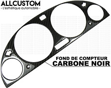 FOND DE COMPTEUR VITESSE JAUGE FIBRE CARBONE NOIR CADRAN pour BMW E39 SERIE 5 M5