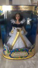Snow White Holiday Princess 1998 Barbie Doll
