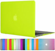 TOPIDEAL Hard Shell Case Cover for Apple MacBook Air/Pro - multiple colours