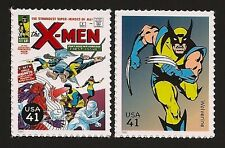 The X-Men #1 Hugh Jackman The Wolverine Marvel Superhero 2 Stamps MINT CONDITION