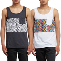 Volcom Mens Lofi Heather Tank Top (Retail $20)