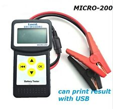 Auto Battery Tester Vehicle Battery analyzer MICRO-200 with printing function