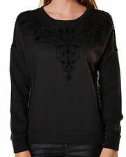 Cotton Regular Size Crewneck Jumpers & Cardigans for Women