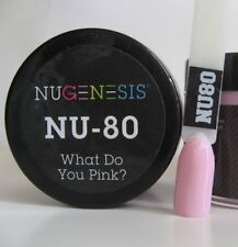 NUGENESIS Nail Color Dip Dipping Powder 1oz/jar (NU61 - 120)- Choose your Colors