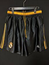 1999-01 Real Madrid 3rd Football Soccer Shorts adidas M