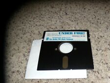 "Under Fire! Commodore 64 Program on 5.25"" disk - Tested"