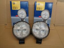 NEW GENUINE HELLA 1G4011722001 PAIR LED WORKLIGHTS AP1200LED 12/24V