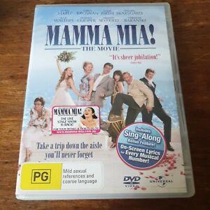 Mamma Mia The Movie DVD R4 Like New! FREE POST