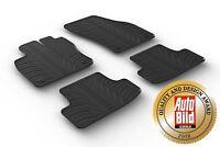 Design Passform Gummimatten Gummi Fußmatten mit Rand für Audi Q2 ab BJ. 07.2016>
