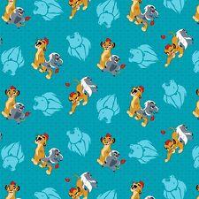 "1 yard Disney Lion King ""Lion Guard Friend Power"" Fabric"