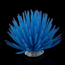 Aquarium Fish Tank Sea Artificial Fake Coral Ornament Decoration Blue New