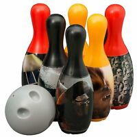Star Wars Episode 7  Indoor Outdoor Bowling Kids Skittles Ball Pins Gift Set