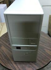 SMALL Vintage AT Computer Case MINI Tower Build IBM PC 386 486 Pentium BOX DOS