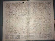 CARTE DE LACAUNE (Tarn) .War And Navy Department Agencies 1944.