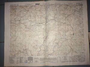CARTE DE LACAUNE (Tarn) .War And Navy Department Agencies 1944.