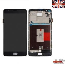 OnePlus 3 Three A3000 A3003 LCD Display Touch Digitizer Assembly + Frame Black