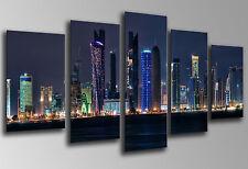 Quadri fotografico città Grattacielo Di Dubai, Lima Legno 145x62 cm, ref.26198