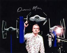 DENNIS MUREN SIGNED 8x10 PHOTO ILM SPECIAL EFFECTS MASTER STAR WARS BECKETT BAS