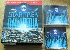 Star Trek Omnipedia - Big Box (PC CD-ROM) - V.G.C.