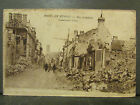 cpa 51 reims en ruines rue gambetta guerre 1914