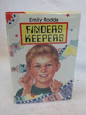 Emily Rodda  FINDERS KEEPERS Greenwillow Books, New York  1st  American Ed. 1991