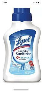 Lysol Laundry Sanitizer Additive, Crisp Linen - 41oz