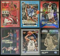 Lot of (6) Vince Carter, Including Scoring Kings /202, Contenders SP & more