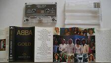 ABBA GOLD (GREATEST HITS) *RARE 1996 BULGARIAN CASSETTE TAPE* AGNETHA FALTSKOG