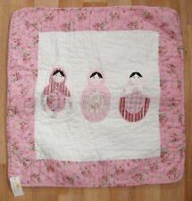 NEW Clayre  & Eef Russian Doll Quilted Cotton Cushion Cover 50 x 50 cm