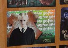 HARRY POTTER HEROES & VILLAINS FOIL REFRACTOR BOX TOPPER CARD BT4 ULTRA RARE
