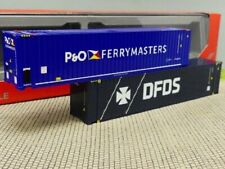 1/87 Herpa Container-Set 45ft High Cube P&O Ferrymaster / DFDS 076937