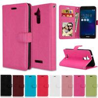 Slim Wallet Leather Flip Case Cover For Asus ZenFone 2 5 ZB501KL ZC520TL ZC553KL