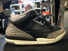 Jordan Retro 3 Black Cement Gs 429487-021 Size: 3y