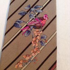 True vintage LEONARD Paris Cravatta di seta M. I. L'ITALIA
