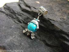 Turquoise Alloy Handmade Round Costume Necklaces & Pendants