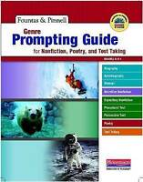 Genre Prompting Guide for Nonfiction, Poetry, and Test Taking K-8 (Fountas and P