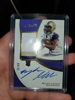 2019 Immaculate Collegiate Myles Gaskin Rookie Patch Auto 36/99 3 Color