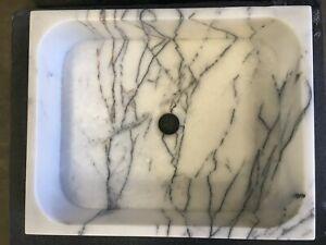 Lilac Marble Tivoli Rectangular Basin