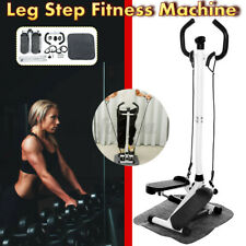 LCD Hydraulic Drawcord Armrest Stepper Fitness Equipment Leg Arm ExerciseMachine