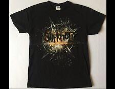 SLIPKNOT Summers Last Stand Tour 2015 Size Medium Black T-Shirt
