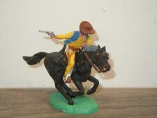 Cowboy on Horse - Plastic Toy - Britains England *37781