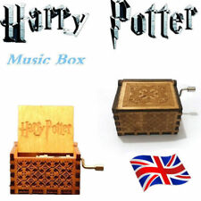 Harry Potter Engraved Wooden Music Box Interesting Toys Kid Xmas Gifts UK SYOCK