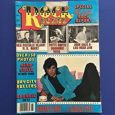 Rock Scene Magazine KISS Bryan Ferry Patti Smith  Aerosmith June 1977 Complete