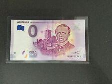 "# Null-0 Euro Souvenir Schein 2018-5 # Wartburg ""Carl Alexander"" XEHB"