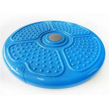 New 15.8 Inch Aerobic Exercise Waist Abdominal Workout Feet Massage Disc Blue