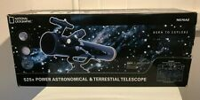 Astronomical and Terrestial Telescope x 525 National Geographic NG76AZ