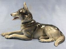 schäferhund Hund hundefigur porzellanfigur Heubach figur porzellan