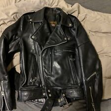 Vanson Heavy leather jacket Size 40. Rock n Roll. Made in USA!