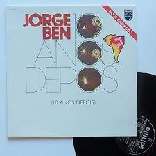 "LP Jorge Ben  ""10 anos depois"""